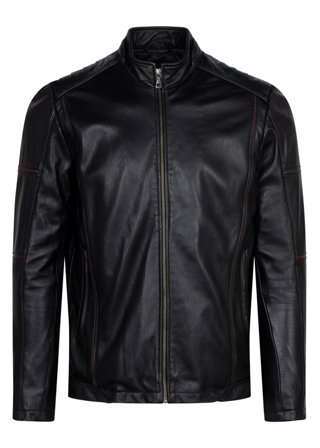 Áo Da Dê FTT LEATHER Dáng Racer Jacket Ms MJ01BL U5 2018