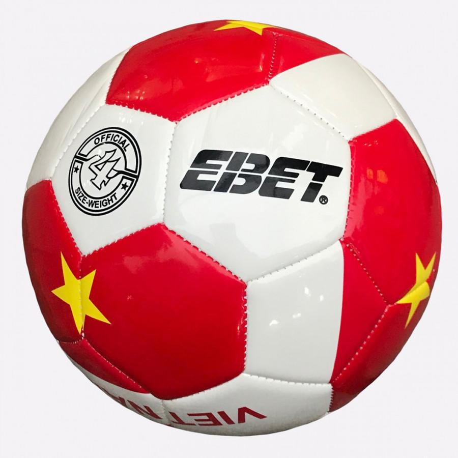 Bóng đá Động Lực trẻ em số 4 hình Việt Nam vô địch (Hàng nhập khẩu đỏ trắng)
