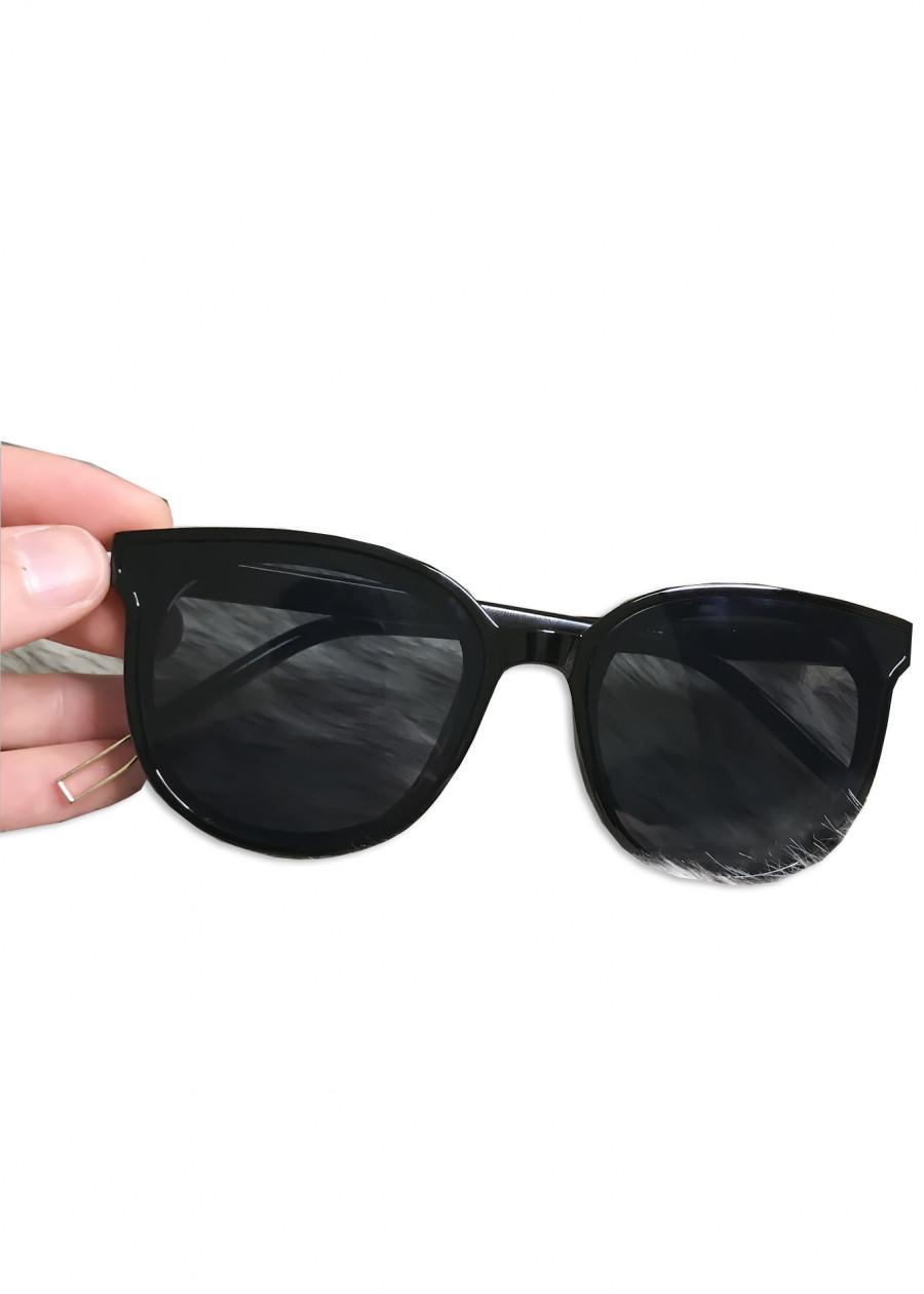 Kính Mắt Thời Trang Nam Nữ Màu Đen - Kính Râm - Kính Gọng Nhựa KDT-03