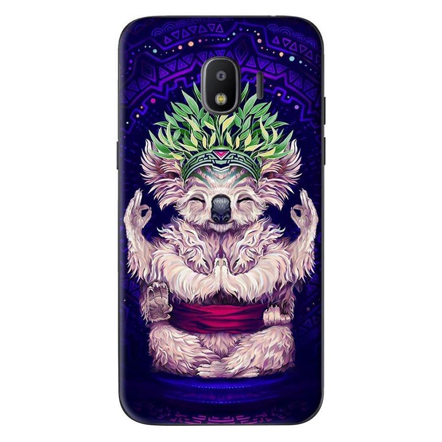 Ốp Lưng Dành Cho Samsung Galaxy J4 2018 / J2 Pro 2018 - Gấu Yoga