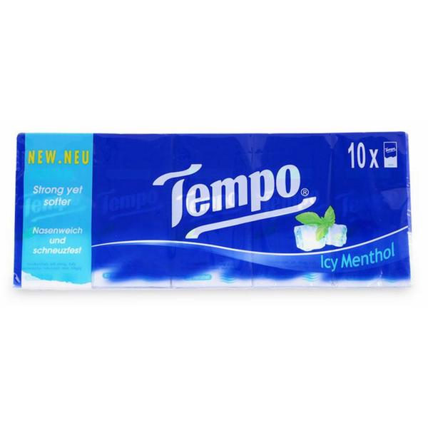 Lốc 10 Gói Khăn Giấy Tempo Icy Menthol - 1098115 , 6149967044383 , 62_3942109 , 41900 , Loc-10-Goi-Khan-Giay-Tempo-Icy-Menthol-62_3942109 , tiki.vn , Lốc 10 Gói Khăn Giấy Tempo Icy Menthol