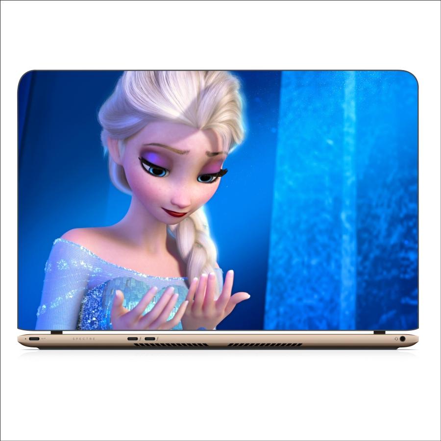 Miếng Dán Skin In Decal Dành Cho Laptop - Công Chúa Elsa 2 - Mã: 101118
