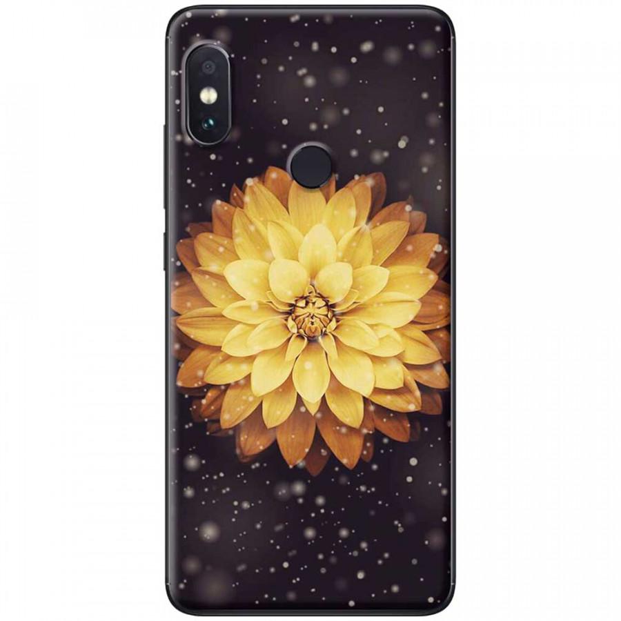 Ốp lưng dành cho Xiaomi Redmi Note 6 mẫu Hoa cúc vàng