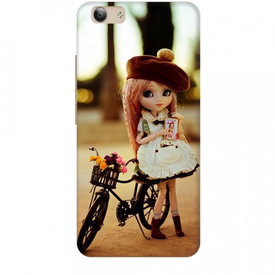 Ốp lưng dành cho điện thoại VIVO Y53 2017 Baby anh Bicycle Mẫu 1