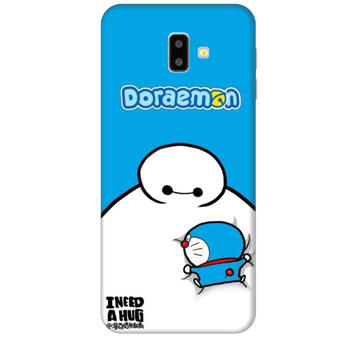 Ốp lưng dành cho điện thoại  SAMSUNG GALAXY J6 PLUS Big Hero Doraemon