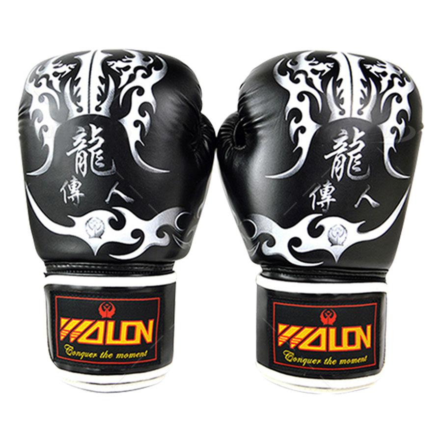 Găng Tay Boxing Thi Đấu Walon - Đen