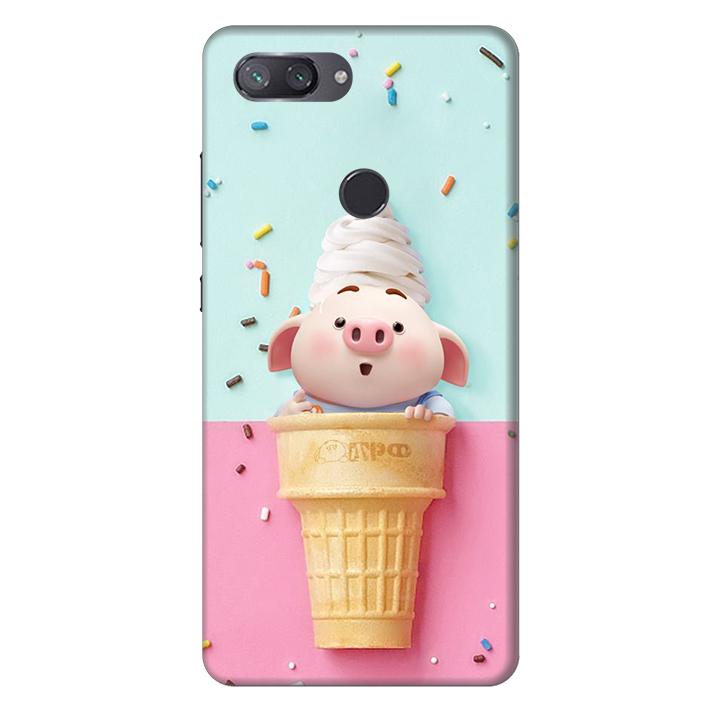 Ốp lưng nhựa cứng nhám dành cho Xiaomi Mi 8 Lite in hình Heo Ốc Quế - 4809237 , 3845545613349 , 62_15112216 , 200000 , Op-lung-nhua-cung-nham-danh-cho-Xiaomi-Mi-8-Lite-in-hinh-Heo-Oc-Que-62_15112216 , tiki.vn , Ốp lưng nhựa cứng nhám dành cho Xiaomi Mi 8 Lite in hình Heo Ốc Quế