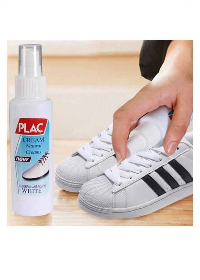 Chai xịt tẩy trắng giày dép túi xách Plac - đầu cọ bàn chải hiệu quả (100ml) - 9597820 , 2766500530659 , 62_17593176 , 40000 , Chai-xit-tay-trang-giay-dep-tui-xach-Plac-dau-co-ban-chai-hieu-qua-100ml-62_17593176 , tiki.vn , Chai xịt tẩy trắng giày dép túi xách Plac - đầu cọ bàn chải hiệu quả (100ml)