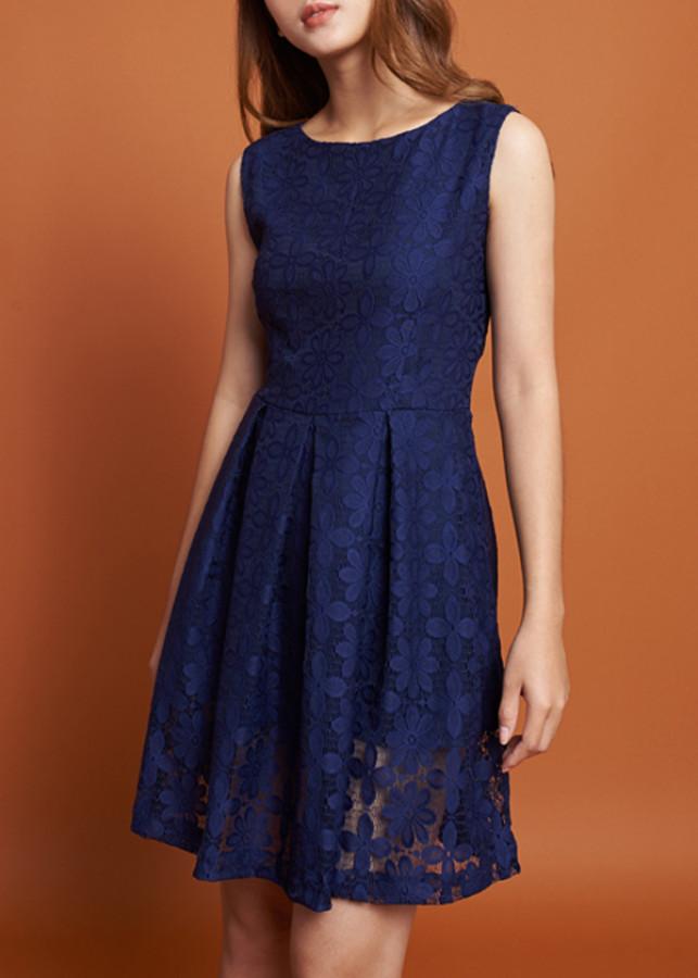 Đầm Nữ Ren Mint Basic 1455NA