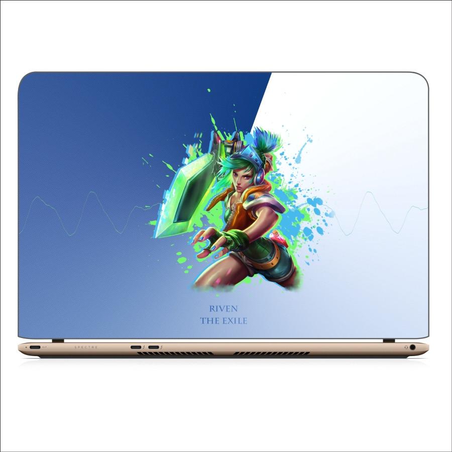 Miếng Dán Skin In Decal Dành Cho Laptop -  Riven LMHT 4