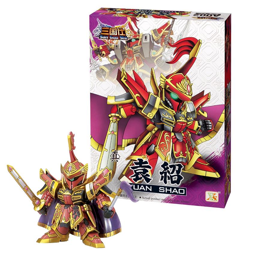 Mô hình Gundam tướng Viên Thiệu - Đồ chơi Tam Quốc lắp ráp sáng tạo Gundam A002 - 799697 , 4152634852879 , 62_13592708 , 199000 , Mo-hinh-Gundam-tuong-Vien-Thieu-Do-choi-Tam-Quoc-lap-rap-sang-tao-Gundam-A002-62_13592708 , tiki.vn , Mô hình Gundam tướng Viên Thiệu - Đồ chơi Tam Quốc lắp ráp sáng tạo Gundam A002