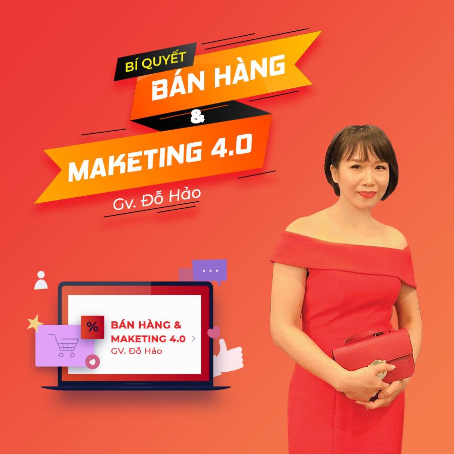 Bí quyết bán hàng  Marketing 4.0