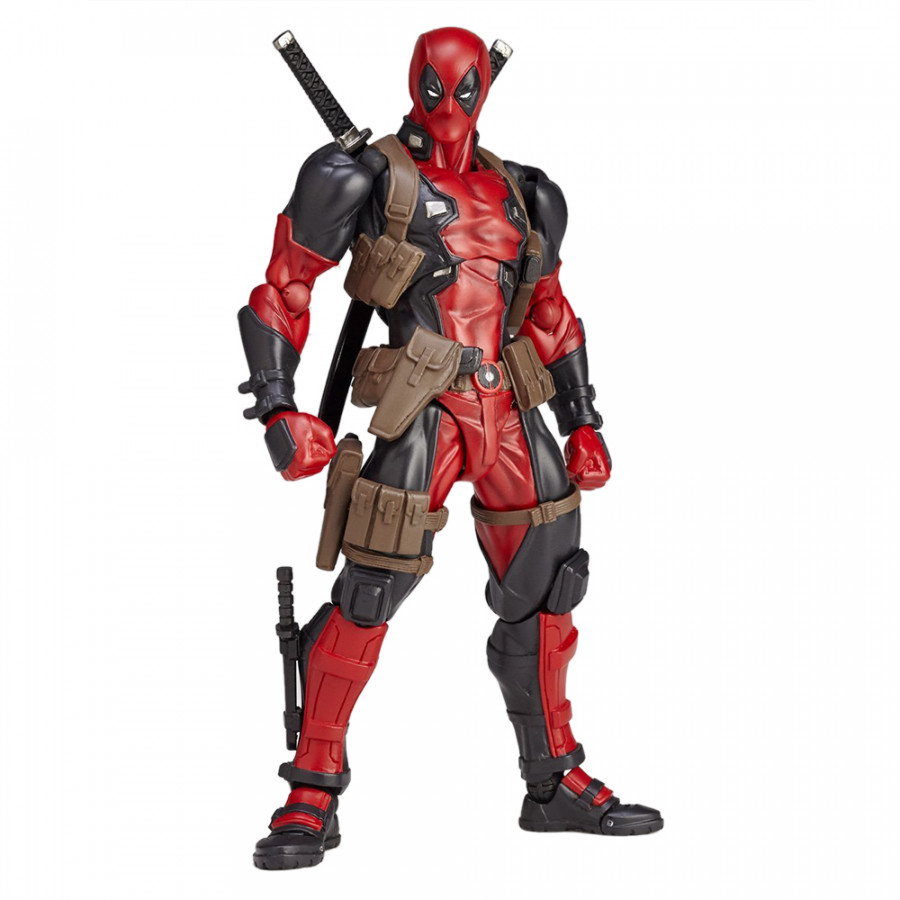 Crazy Toys Cartoon PVC Action Figure Change Face Collectible Model Toy Red Boxed Super Heros Dolls