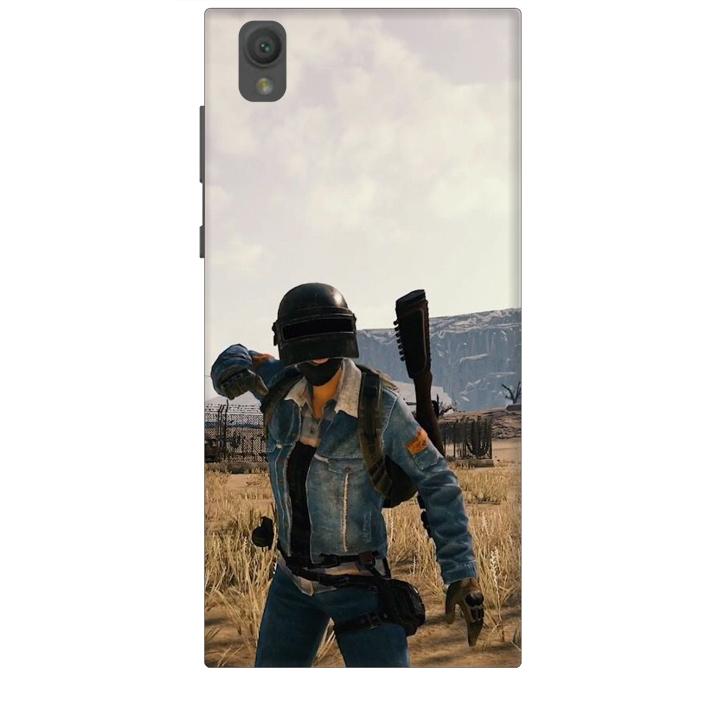 Ốp lưng dành cho điện thoại SONY L1 hinh PUBG Mẫu 07