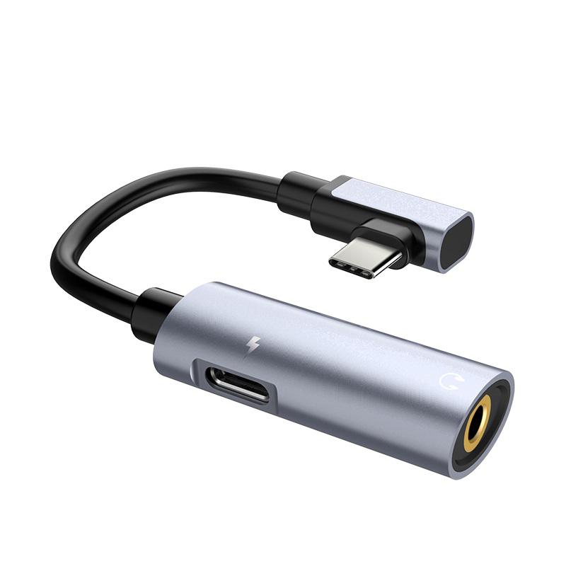Cáp HOCO LS19 Chuyển Đổi Âm Thanh Type-C sang USB Type-C + Audio 3.5mm tiện dụng - Hàng chính hãng - 2 màu - 16012595 , 6919916534230 , 62_20953408 , 265000 , Cap-HOCO-LS19-Chuyen-Doi-Am-Thanh-Type-C-sang-USB-Type-C-Audio-3.5mm-tien-dung-Hang-chinh-hang-2-mau-62_20953408 , tiki.vn , Cáp HOCO LS19 Chuyển Đổi Âm Thanh Type-C sang USB Type-C + Audio 3.5mm tiện