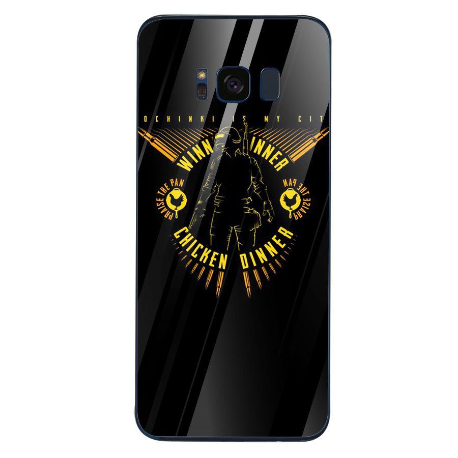 Ốp kính cường lực dành cho điện thoại Samsung S8 - PUBG mobile - pubg007