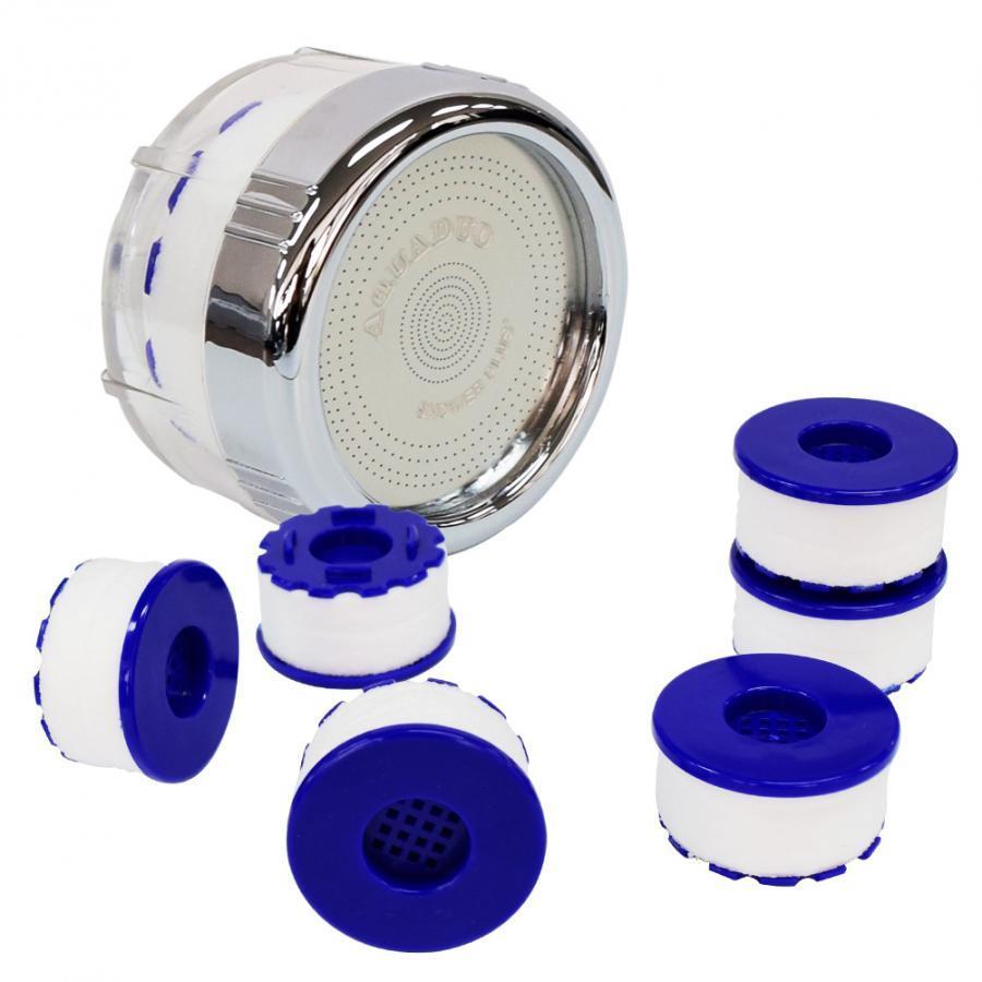 Combo Đầu vòi bồn rửa tay (tăng áp, lọc nước) + 6 Thanh lọc nước SF-1000SSB