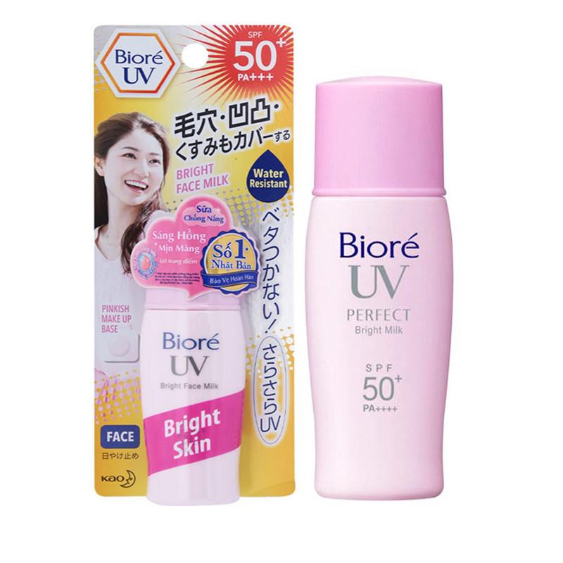Sữa Chống Nắng Biore UV Bright Face Milk Sáng Hồng Tự Nhiên Tuýp 30ML - 1532926 , 8474673534575 , 62_8167359 , 95000 , Sua-Chong-Nang-Biore-UV-Bright-Face-Milk-Sang-Hong-Tu-Nhien-Tuyp-30ML-62_8167359 , tiki.vn , Sữa Chống Nắng Biore UV Bright Face Milk Sáng Hồng Tự Nhiên Tuýp 30ML