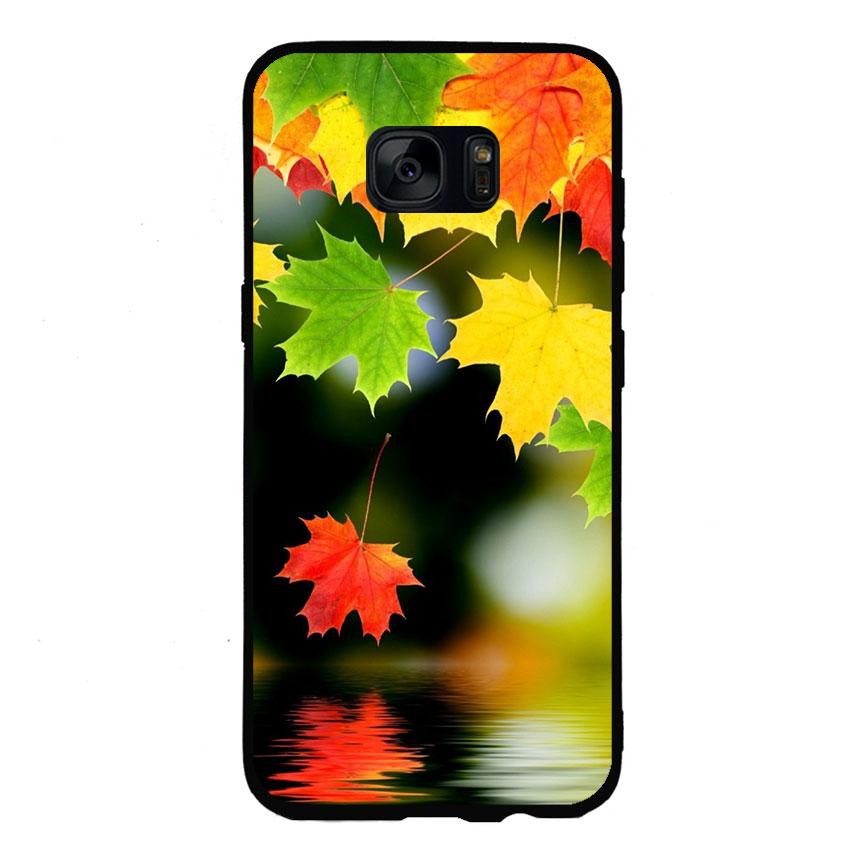 Ốp lưng nhựa cứng viền dẻo TPU Cho Điện Thoại Samsung Galaxy S6 - Sắc Thu