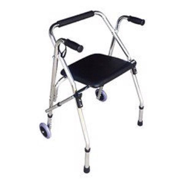 Khung tập đi cho bệnh nhân có ghế ngồi