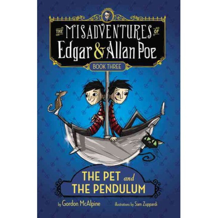 The Pet and the Pendulum  The Misadventures of Edgar  Allan Poe - 1234804 , 1983890557764 , 62_5261895 , 451000 , The-Pet-and-the-Pendulum-The-Misadventures-of-Edgar-Allan-Poe-62_5261895 , tiki.vn , The Pet and the Pendulum  The Misadventures of Edgar  Allan Poe