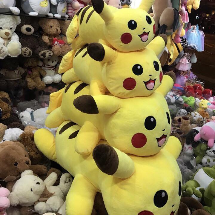 Thú nhồi bông Pikachu - 7764089 , 8517119497819 , 62_15819354 , 420000 , Thu-nhoi-bong-Pikachu-62_15819354 , tiki.vn , Thú nhồi bông Pikachu