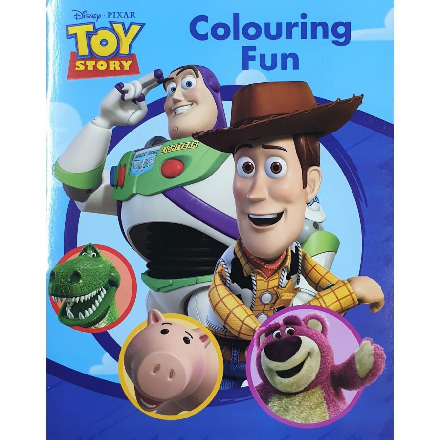 Disney Toy Story Colouring Fun