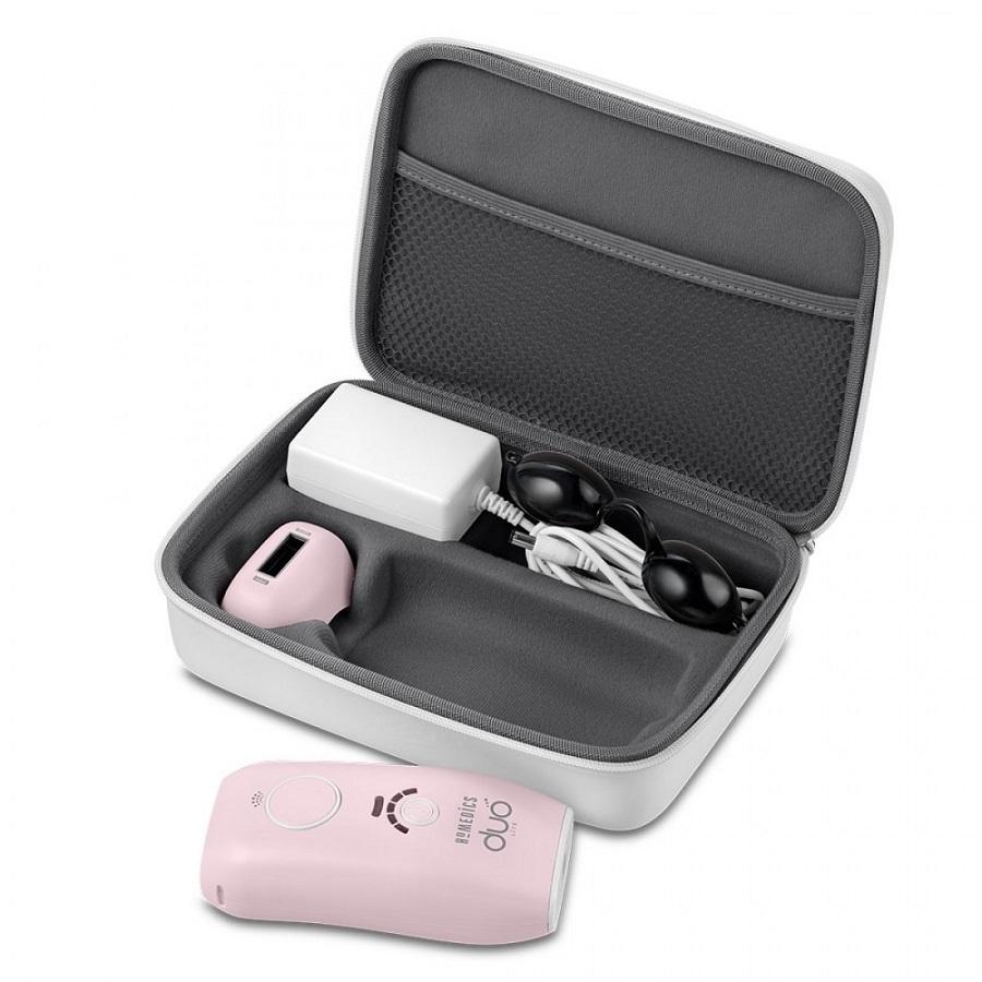 Máy triệt lông cá nhân HoMedics IPL-HH180 công nghệ kép IPLATF nhập khẩu USA