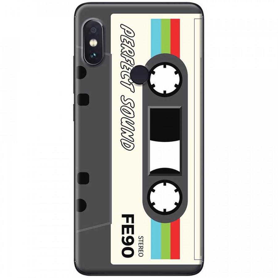 Ốp lưng dành cho Xiaomi Redmi Note 7 mẫu Cassette xám trắng