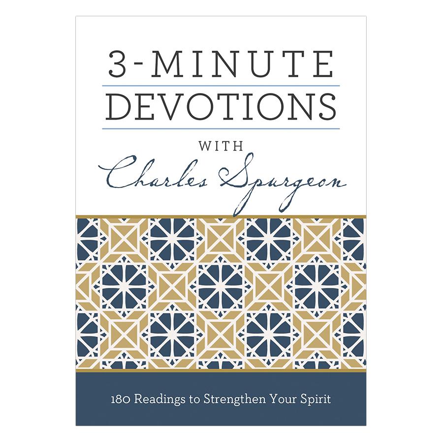 3-Minute Devotions - Charles Spurgeon - 774019 , 6949562049512 , 62_10757094 , 332000 , 3-Minute-Devotions-Charles-Spurgeon-62_10757094 , tiki.vn , 3-Minute Devotions - Charles Spurgeon