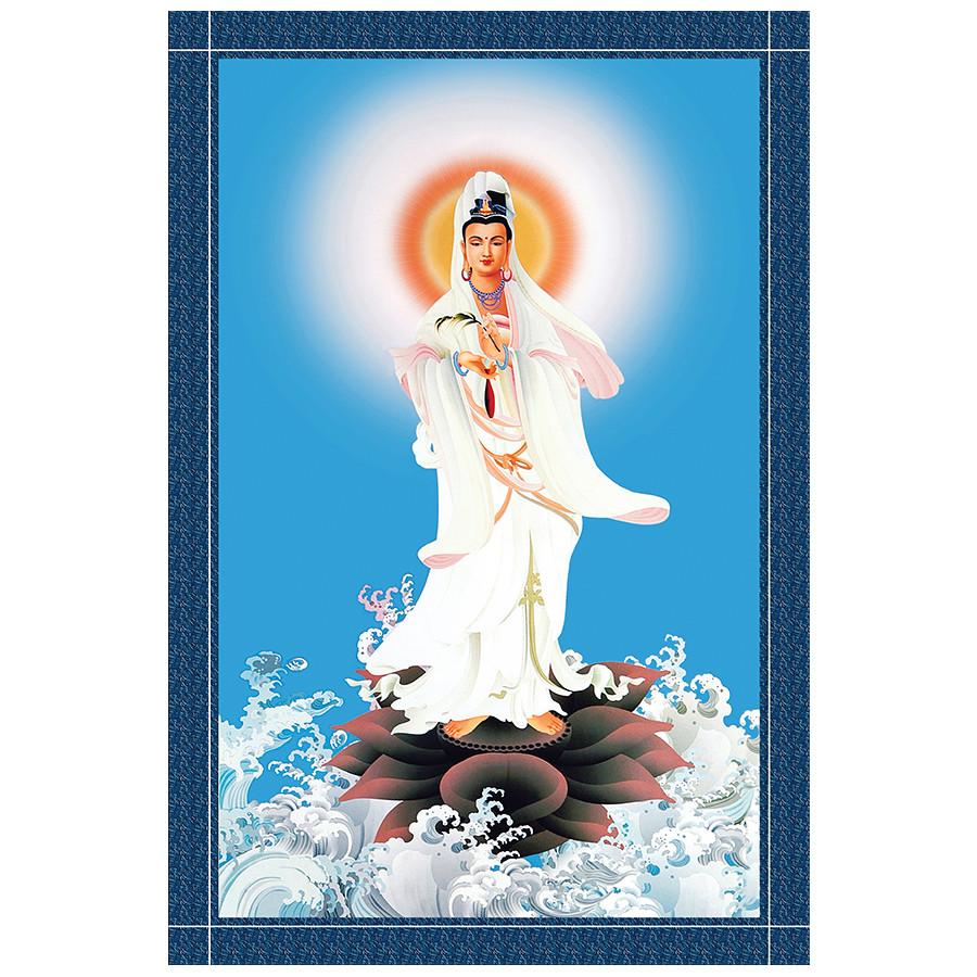 Tranh Phật Giáo Quan Thế Âm Bồ Tát 2314 - 7376377836041,62_6285451,249000,tiki.vn,Tranh-Phat-Giao-Quan-The-Am-Bo-Tat-2314-62_6285451,Tranh Phật Giáo Quan Thế Âm Bồ Tát 2314