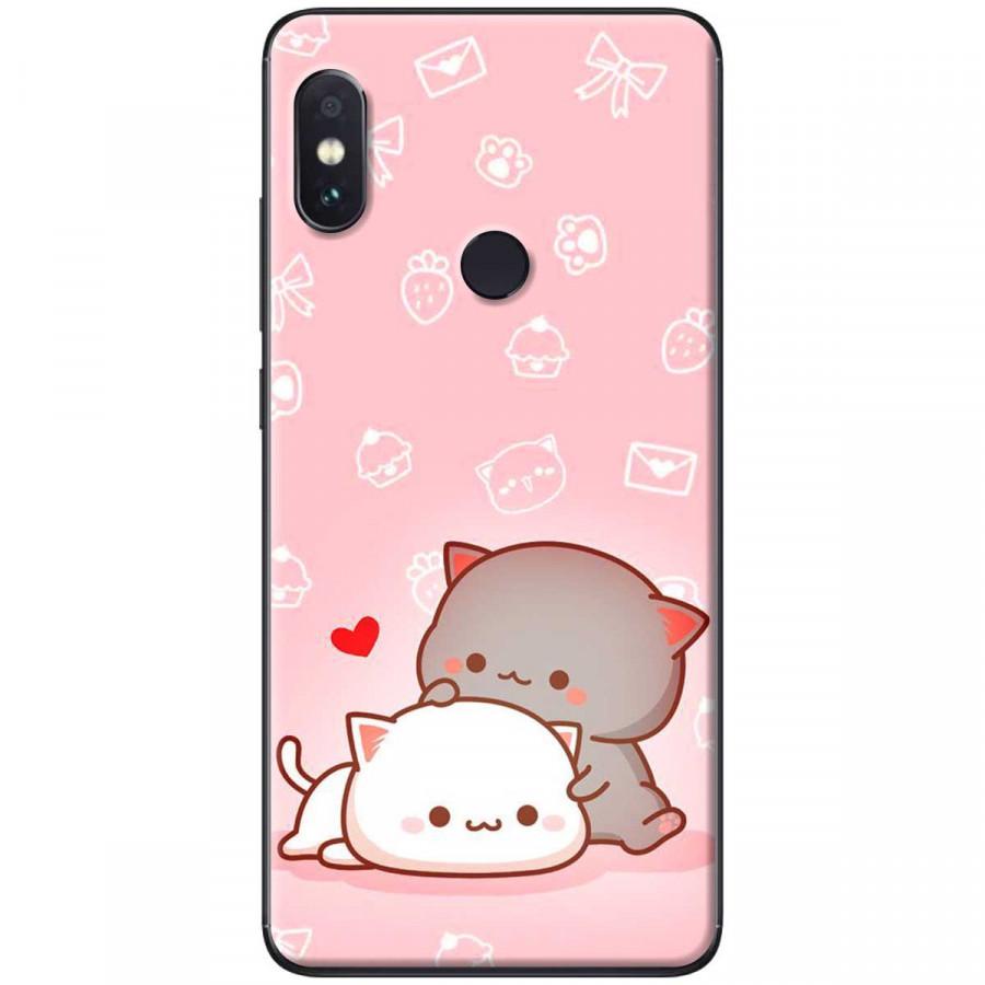 Ốp lưng dành cho điện thoại Xiaomi Redmi Note 6 Pro -Mẫu Mèo mập nền hồng - 786351 , 6577089455792 , 62_11989775 , 150000 , Op-lung-danh-cho-dien-thoai-Xiaomi-Redmi-Note-6-Pro-Mau-Meo-map-nen-hong-62_11989775 , tiki.vn , Ốp lưng dành cho điện thoại Xiaomi Redmi Note 6 Pro -Mẫu Mèo mập nền hồng