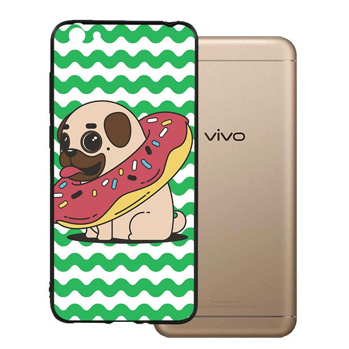 Ốp lưng viền TPU cho Vivo Y55 - Kute Dog 04
