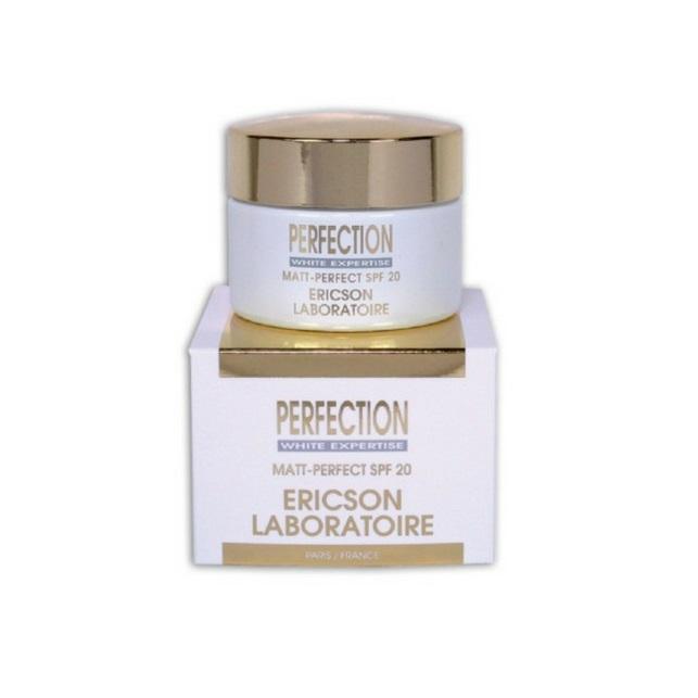 Kem Dưỡng Ngăn Ngừa Nám Và Làm Sáng Da Ericson Perfection Matt Perfect Cream Spf20 50ml