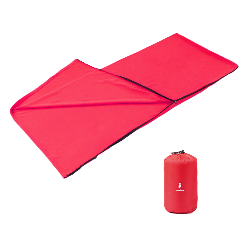 Adults Envelope Sleeping Bag Winter Sleeping Bag Liner Warm Fleece Blanket