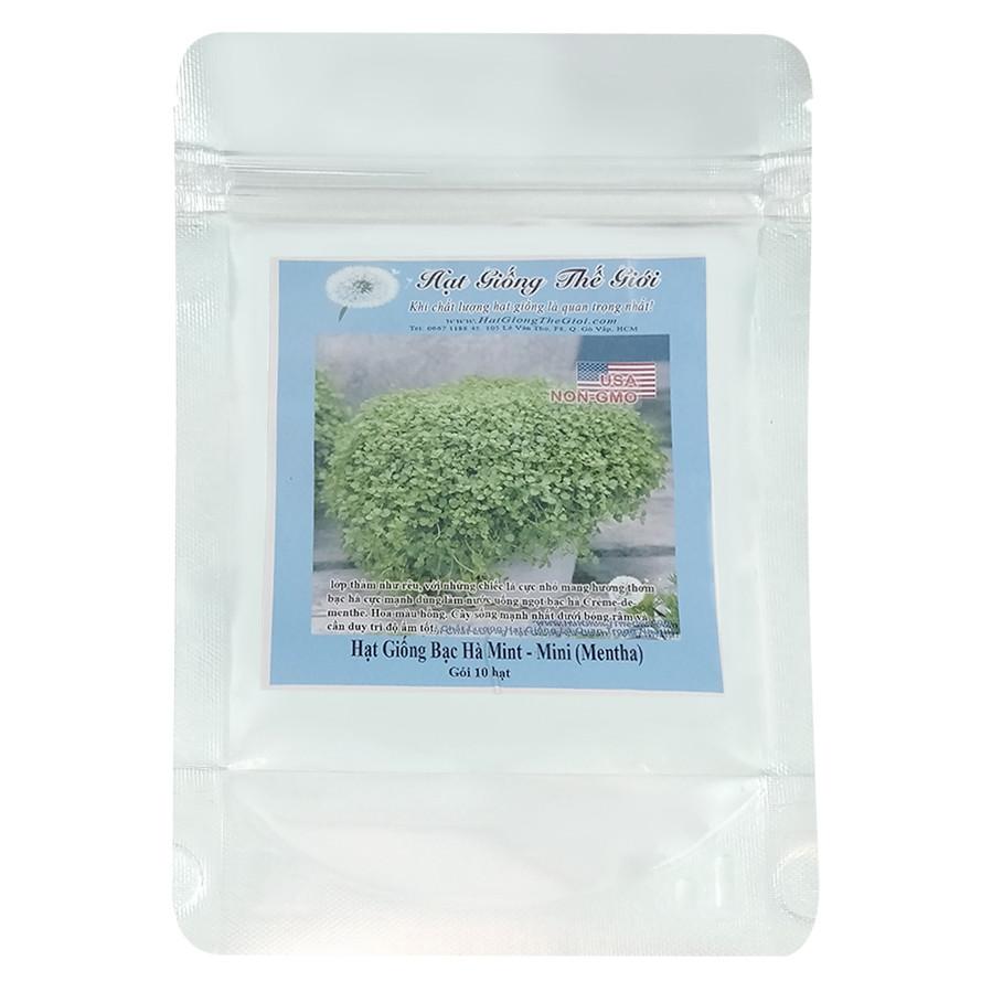 Hạt Giống Bạc Hà Mint - Mini - Mentha (10 Hạt)