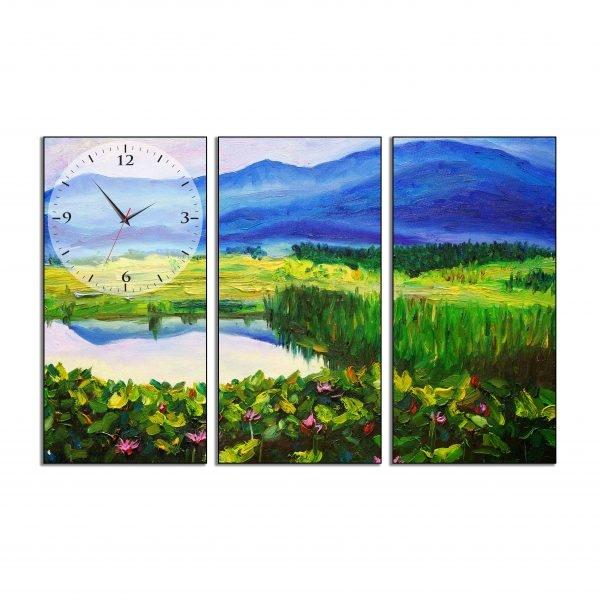 Tranh đồng hồ in Canvas Một góc đồng quê - 3 mảnh - 4763037 , 8973936273263 , 62_10354607 , 897500 , Tranh-dong-ho-in-Canvas-Mot-goc-dong-que-3-manh-62_10354607 , tiki.vn , Tranh đồng hồ in Canvas Một góc đồng quê - 3 mảnh