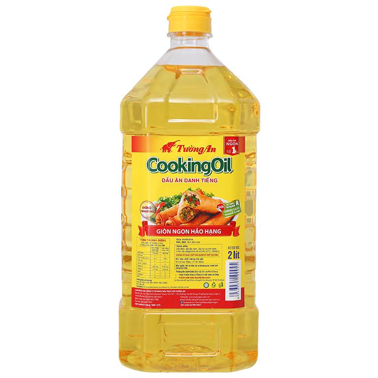 Dầu Thực Vật Tường An Cooking Oil 2 lít