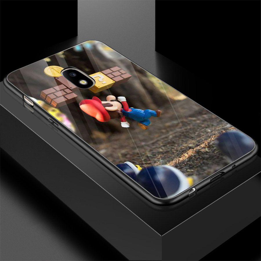 Ốp kính cường lực cho điện thoại Samsung Galaxy J5 - super mario MS MARIO028 - Hàng Chính Hãng