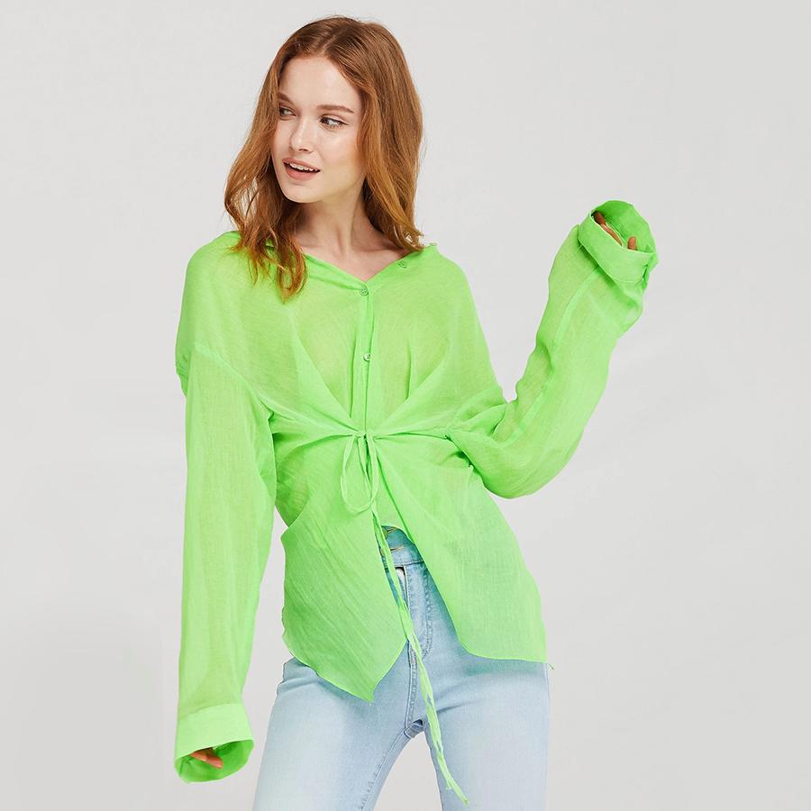 STORETS Millie Back-Slit Sheer Shirt - 16413304 , 6749320258510 , 62_24605899 , 1578000 , STORETS-Millie-Back-Slit-Sheer-Shirt-62_24605899 , tiki.vn , STORETS Millie Back-Slit Sheer Shirt
