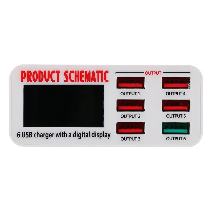 Bộ Sạc Máy Tính Để Bàn 6 cổng USB Với Màn Hình Điện Tử - 7424258 , 8226678358843 , 62_15458796 , 672000 , Bo-Sac-May-Tinh-De-Ban-6-cong-USB-Voi-Man-Hinh-Dien-Tu-62_15458796 , tiki.vn , Bộ Sạc Máy Tính Để Bàn 6 cổng USB Với Màn Hình Điện Tử