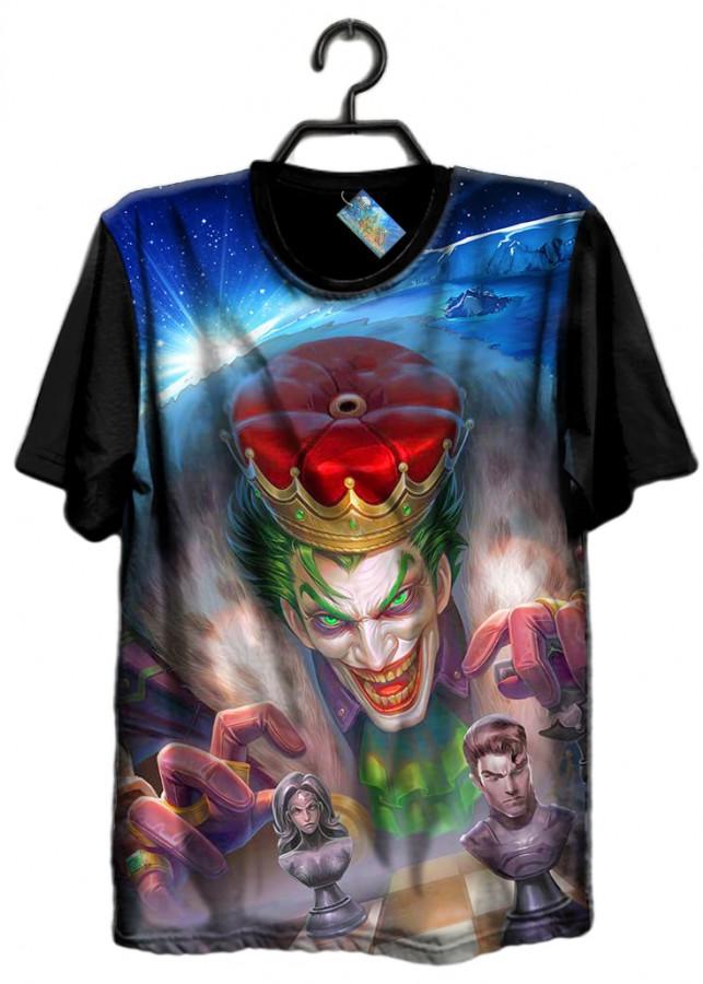 Áo thun Liên Quân Joker Vua Hề (3D Black)