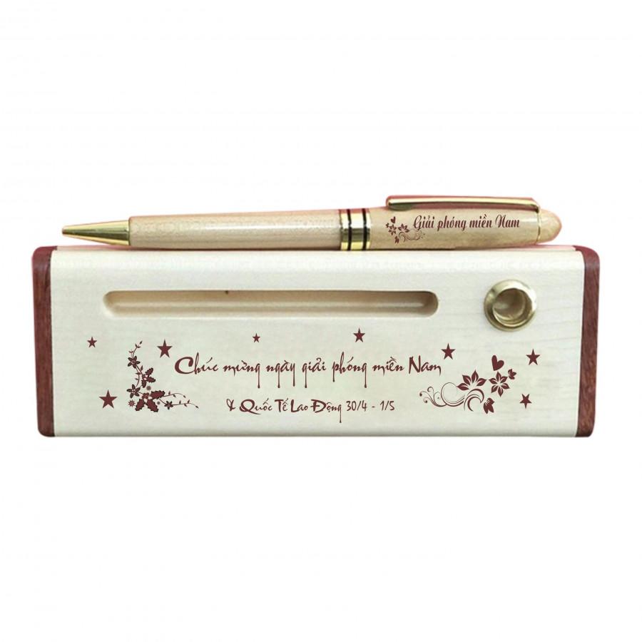 Hộp bút gỗ 30-4  1-5
