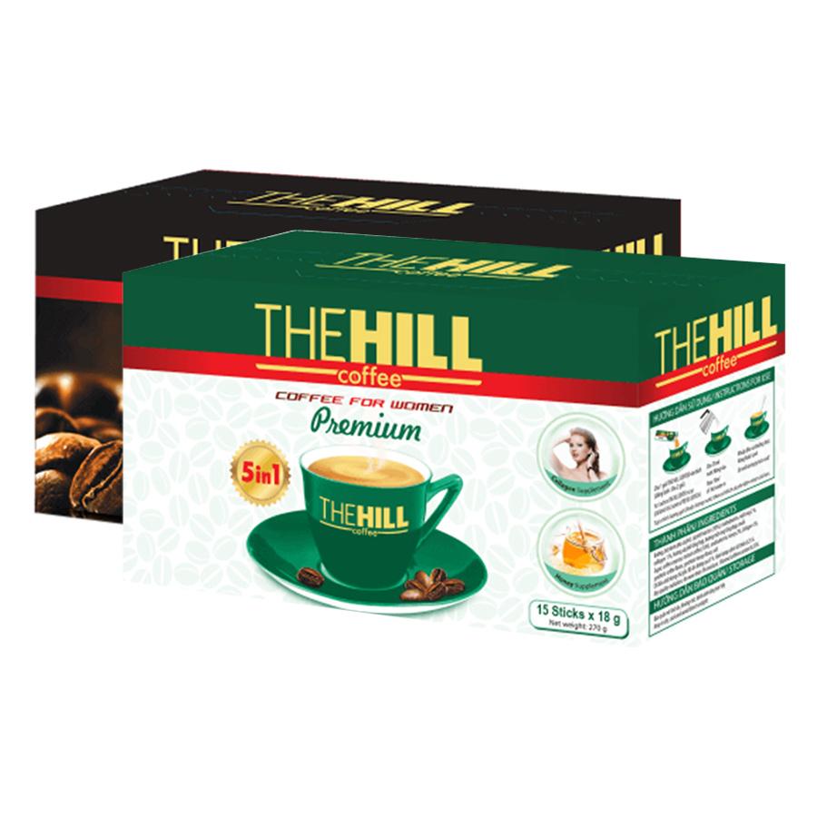 Combo Cà Phê Mạnh The Hill Coffee Premium (288g) + Cà Phê Cho Phái Nữ The Hill Coffee Premium (270g) - 1986630 , 3659363044236 , 62_753359 , 110000 , Combo-Ca-Phe-Manh-The-Hill-Coffee-Premium-288g-Ca-Phe-Cho-Phai-Nu-The-Hill-Coffee-Premium-270g-62_753359 , tiki.vn , Combo Cà Phê Mạnh The Hill Coffee Premium (288g) + Cà Phê Cho Phái Nữ The Hill Coffee