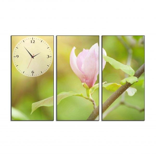 Tranh đồng hồ in Canvas Nở sớm đón bình minh - 3 mảnh - 7071271 , 6107339875263 , 62_10352885 , 897500 , Tranh-dong-ho-in-Canvas-No-som-don-binh-minh-3-manh-62_10352885 , tiki.vn , Tranh đồng hồ in Canvas Nở sớm đón bình minh - 3 mảnh