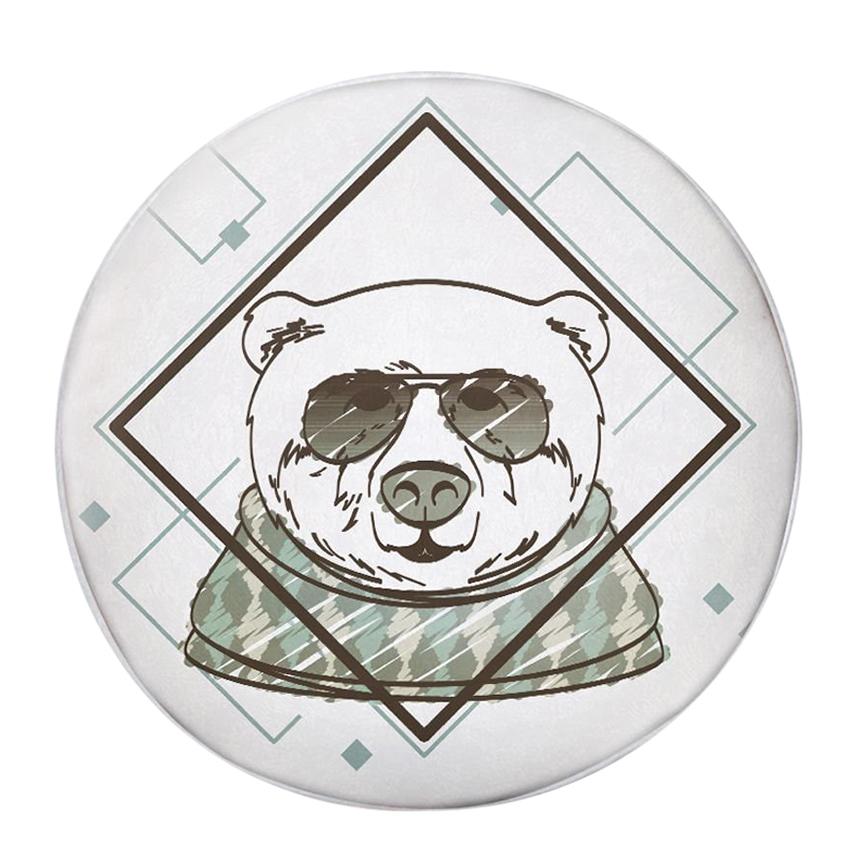 Gối Ôm Tròn Gấu Đeo Kính Mát - GOAA255