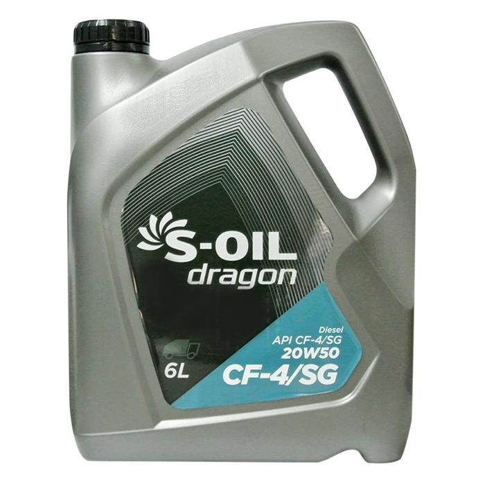 Nhớt Động Cơ Xe Ô Tô S-Oil Dragon 20W-50 API CF-4 (6L) - 994966 , 9322724389027 , 62_2668395 , 480000 , Nhot-Dong-Co-Xe-O-To-S-Oil-Dragon-20W-50-API-CF-4-6L-62_2668395 , tiki.vn , Nhớt Động Cơ Xe Ô Tô S-Oil Dragon 20W-50 API CF-4 (6L)