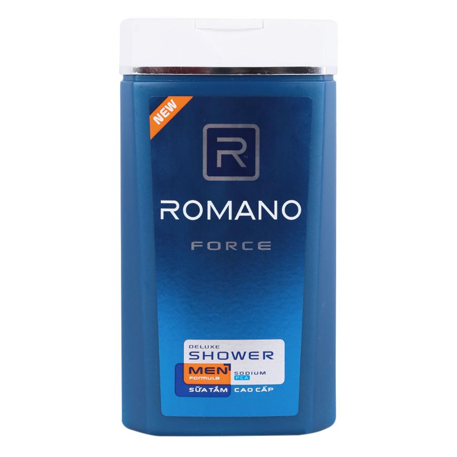 Sữa Tắm Cao Cấp Romano Force (180g)