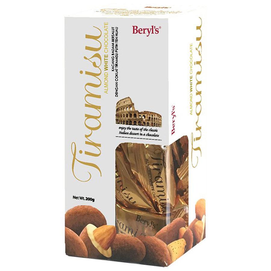Chocolate Beryls Tira White 200gr
