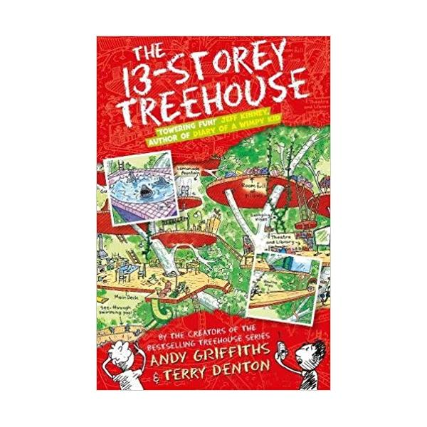 The 13-Storey Treehouse (The Treehouse Books) Paperback